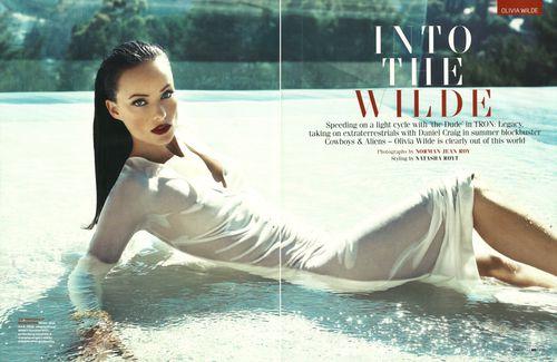 Оливия Уайлд в журнале GQ. Июнь 2011
