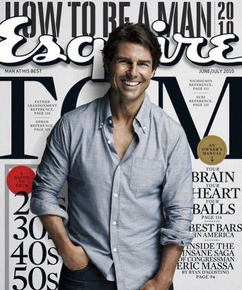 Том Круз в журнале Esquire. Июнь / Июль 2010