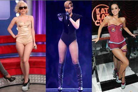 Рианна, Кэти Перри и Lady GaGa боятся быть одинаковыми