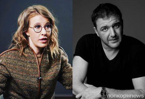 Ксения Собчак и Максим Виторган опять конфликтуют в сети