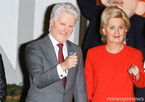 Кэти Перри и Орландо Блум нарядились в Хилари Клинтон и Дональда Трампа на Хэллоуин