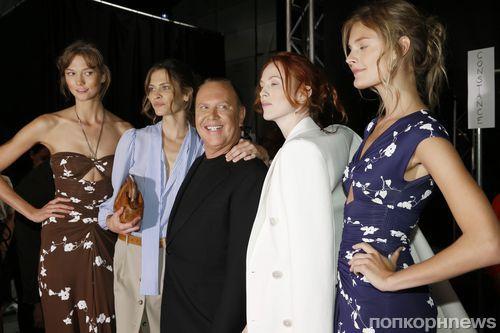Модный показ новой коллекции Michael Kors. Весна / лето 2014