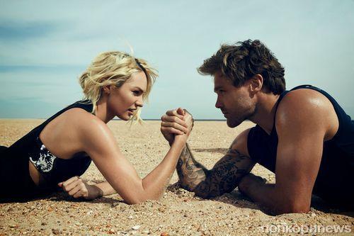 Кэндис Свейнпол в рекламной кампании The Upside 2014