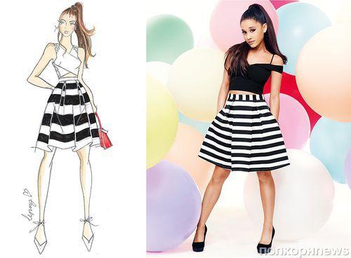 1f0fc85de3f07a4 Ариана Гранде представила коллекцию выпускных платьев