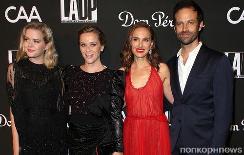 Фото: Риз Уизерспун с дочкой, Натали Портман с мужем и другие звезды на Dance Project Gala 2018