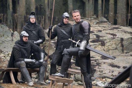 Дэвида Бекхэма высмеяли из-за роли в «Мече короля Артура»