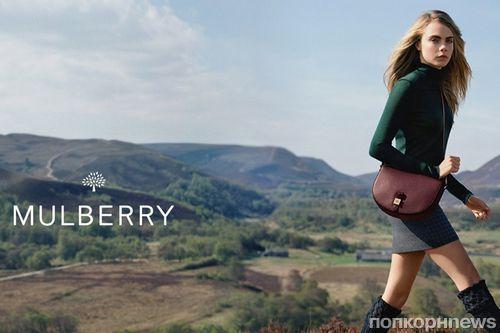 Кара Делевинь создала коллекцию аксессуаров для Mulberry