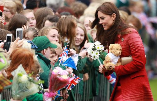 Кейт Миддлтон и принц Уильям в Шотландии