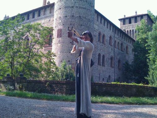 Итальянские каникулы Миллы Йовович