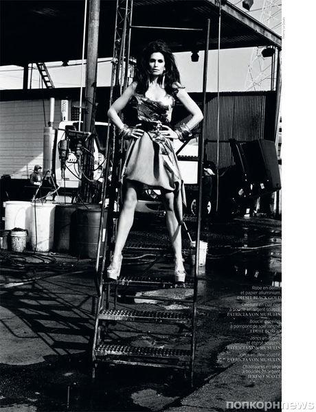 Синди Кроуфорд в журнале French Revue de Modes. Выпуск 20