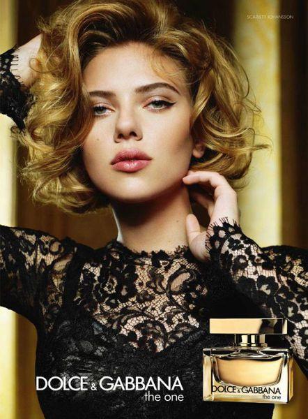 Скарлетт Йоханссон в рекламе нового аромата D&G «The One»