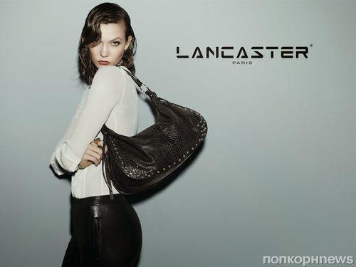 Карли Клосс в рекламной кампании Lancaster