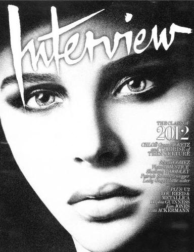 Хлоя Морец в журнале Interview. Ноябрь 2011