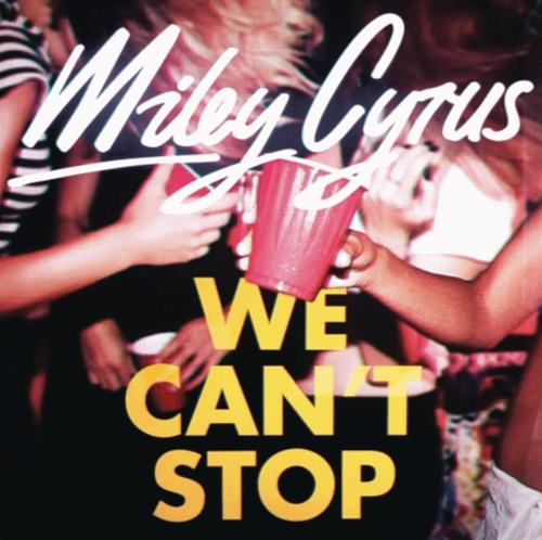 Новая песня Майли Сайрус - We Can't Stop