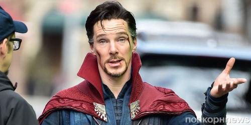 """Доктора вызывали? Бенедикт Камбербэтч подъехал на съемки """"Мстителей 3"""""""