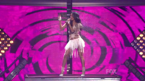 Выступление Николь Шерзингер на шоу American Idol