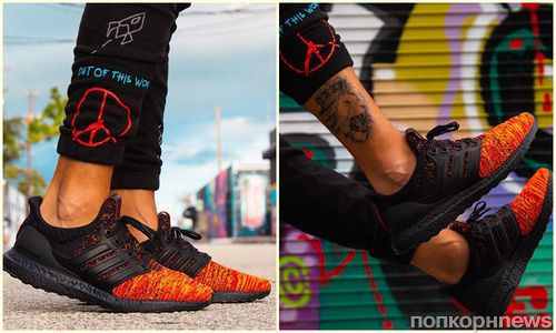 Пламя и кровь: Adidas показал коллекцию кедов в честь «Игры престолов» в стиле дома Таргариенов