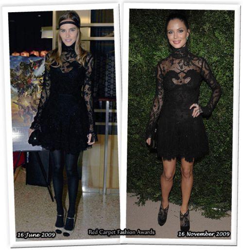 Fashion battle: Изабель Лукас и Джорджина Чэпмен