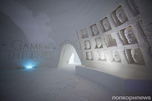В Финляндии открылся ледяной отель «по мотивам» сериала «Игра престолов»