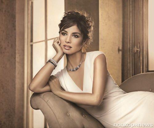Беренис Марло в рекламной кампании Swarovski Sparkling Moments