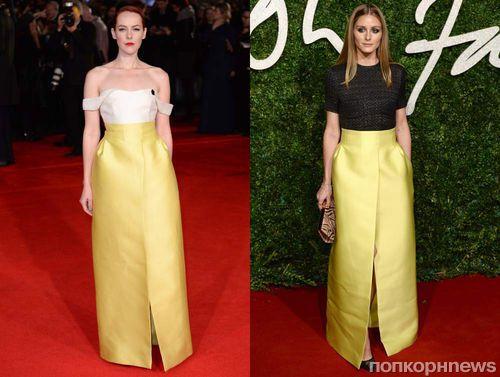 Fashion battle: Джена Мэлоун и Оливия Палермо