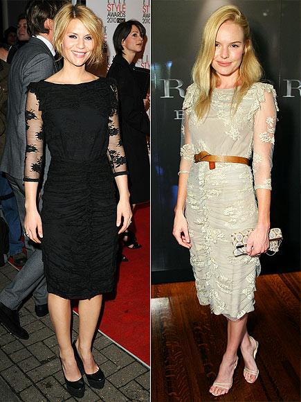 Fashion battle: Клэр Дэйнс и Кейт Босуорт