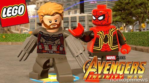 Новинки LEGO® Marvel Super Heroes: Война бесконечности