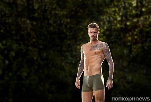 Первый взгляд на Дэвида Бекхэма в рекламной кампании H&M