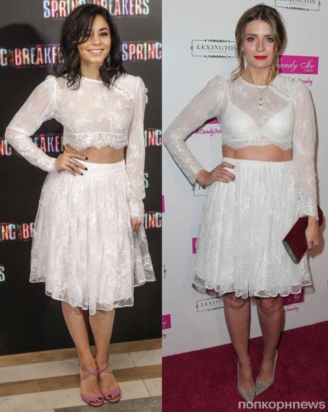 Fashion battle: Ванесса Хадженс и Миша Бартон