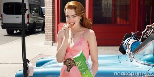 Эмма Стоун снялась в фотосессии для ноябрьского Vogue