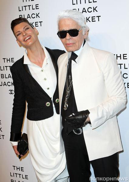 Звезды на открытии выставки Chanel