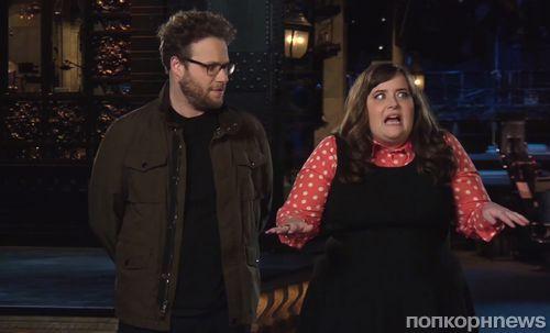 Сет Роген в промо-ролике Saturday Night Live