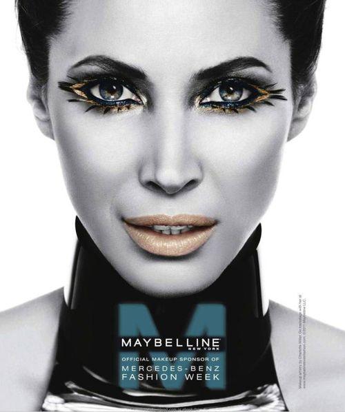 Рекламная кампания Нью-йоркская неделя моды Maybelline