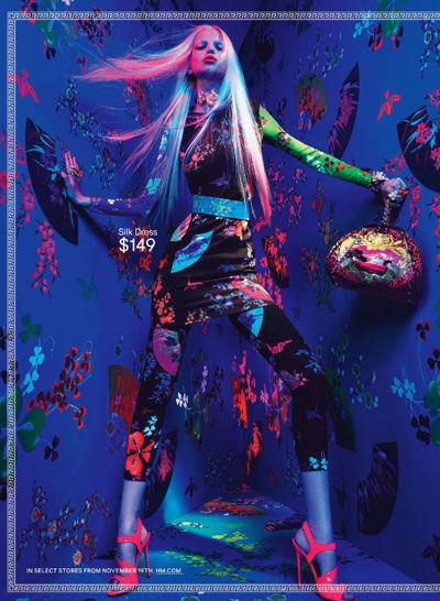 Рекламная кампания Versace для H&M