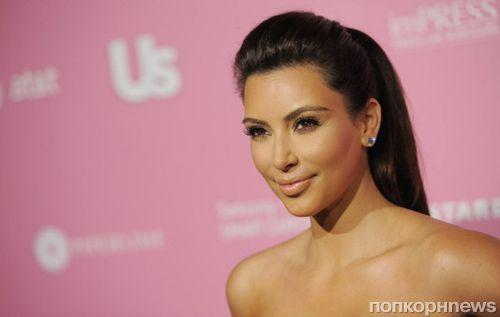 Ким Кардашьян пришла на показ Канье Уэста без нижнего белья
