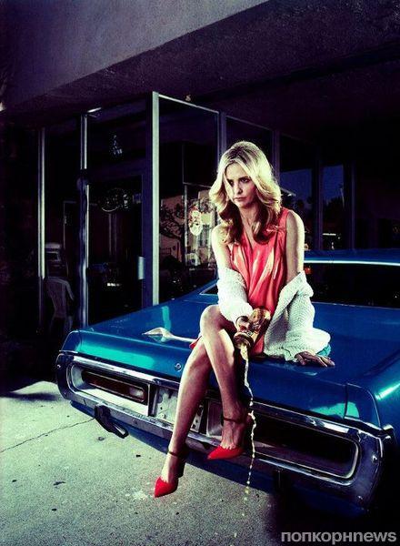 Сара Мишель Геллар в журнале Bullet. Весна 2012