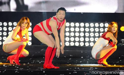 Видео: Psy исполнил танец Бейонсе под Single Ladies