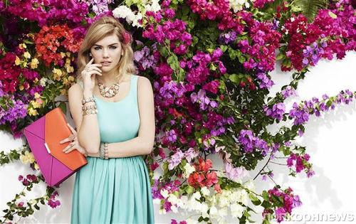 Кейт Аптон в рекламной кампании  Accessorize. Весна / лето 2013