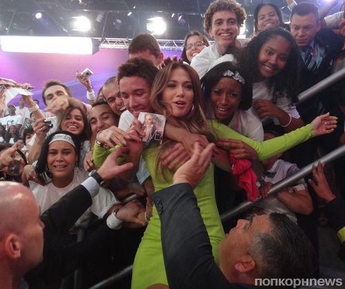 Дженнифер Лопес на бразильском телешоу