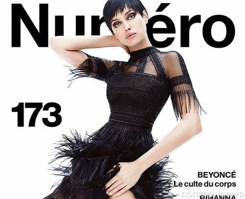 Ирина Шейк на обложке журнала Numéro. Май 2016