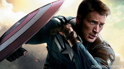 «Капитан Америка» Крис Эванс продлил контракт с Marvel еще на один фильм