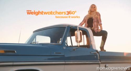Джессика Симпсон в рекламе Weight Watchers