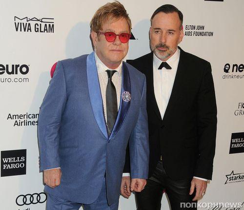 Звезды на вечеринке Элтона Джона в честь церемонии «Оскар»