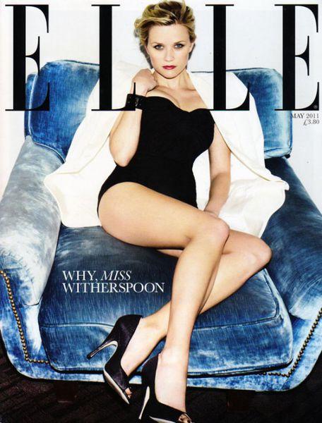 Риз Уизерспун в журнале Elle Великобритания. Май 2011