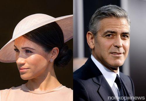 Джордж Клуни обвинил СМИ в травле Меган Маркл