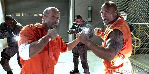Официально: Джейсон Стэтхэм и Дуэйн Джонсон встретятся в спин-оффе «Форсажа»