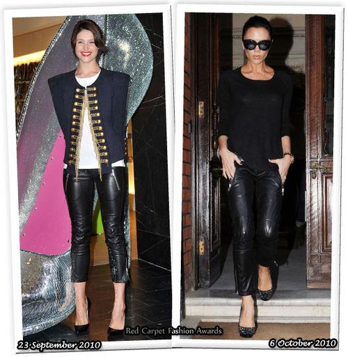 Fashion Battle: Джемма Артертон и Виктория Бэкхем