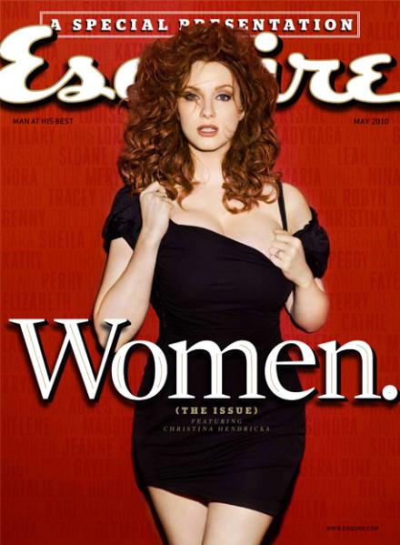 Кристина Хендрикс - самая желанная женщина по версии Esquire