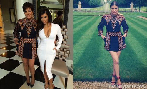 Fashion battle: Крис Дженнер и Хлое Кардашян