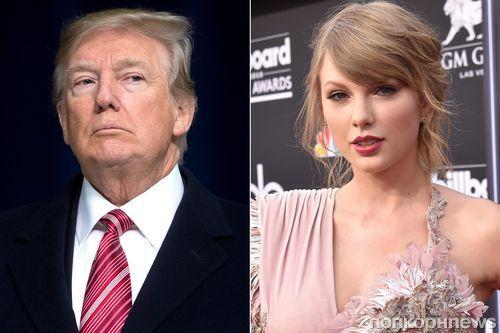 Дональд Трамп обиделся на Тейлор Свифт